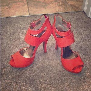 Tangerine High Heels